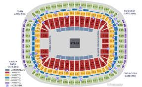 Reliant Seating Chart Football Nrg Stadium Houston Tx Seating Chart View