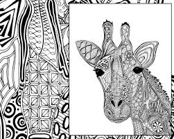 Coloring Pages Printable Giraffe Coloring Pagesr Adults With Page