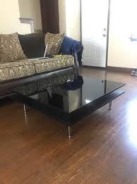 snagged this floor model tofteryd coffee table for 100