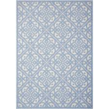challenge waverly rugs bubbly bluebell 10 ft x 13 indoor outdoor area rug