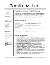Corporate Communications Resume
