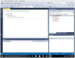 Design View Visual Studio 2015 Windows 10 And Visual Studio 2015 A Great Combination