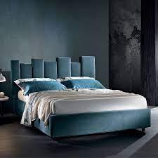 Il letto sommier alla francese è l'oggetto d'arredo che deve vestirci al meglio per poter riposare bene e con piacere. Letto Moderno Matrimoniale Imbottito Di Design Made In Italy