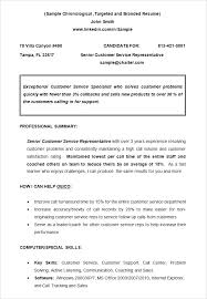 Resume Examples Format Chronological Resume Sample Examples Resume ...