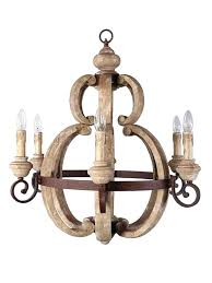 wood and iron chandeliers vintage style french country cau wooden iron chandelier country wood wrought iron