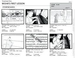 Video Storyboard Sample Template Word Format Printable Ks2 8 ...