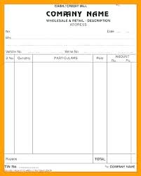 wholesale invoice template bill format template diycentral co