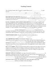 independent contract template trucking contract template independent contractor agreement form