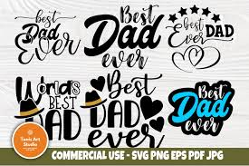 This free svg cut file comes in a single zip file with the following file formats: Best Dad Ever Svg Fathers Day Svg World S Best Dad Svg 574186 Cut Files Design Bundles