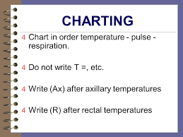 Peripheral Pulses Charting Temperature Pulse Respirations Ppt Video Online Download
