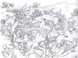 All Legendary Pokemon Coloring Pages All Legendary Pokemon By