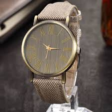 jean fabric band wood face watches vintage bronze quartz watch man jean fabric band wood face watches vintage bronze quartz watch man classic leather strap elegant 85227 4me click