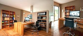 home office with two desks. Two Person Office Design Desk Home Designs Stylish . Double Work With Desks
