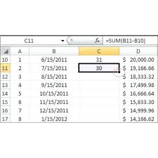 How To Create An Amortization Schedule In Excel Calculate