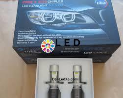 Tại sao nên trang trí đèn pha Led cho xe ô tô và xe máy
