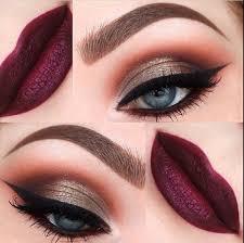 indian bridal makeup tutorial 4 gold berry and purple asian stani indian arabic bridal makeup