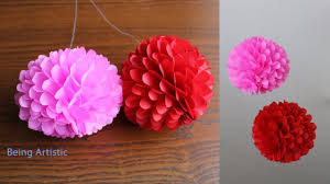 Paper Flower Balls To Hang From Ceiling Diy Hanging Paper Ball Paper Craft Handmade