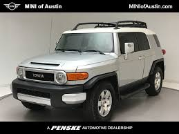 2008 Used Toyota FJ Cruiser RWD 4dr Automatic at MINI of Austin ...