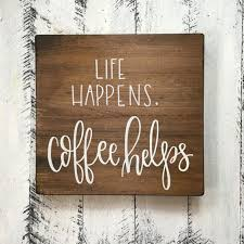 x 40 cm wooden wall decor with sayings