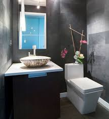 interior create a wonderful powder room beside bathroom