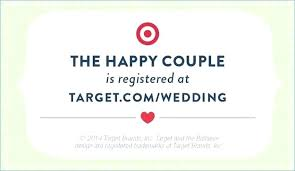 Beautiful Registry Inserts For Wedding Invitations And Target