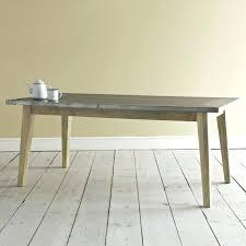 zinc top dining table diy