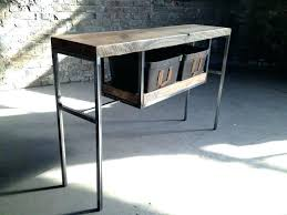 sofa entry table pottery barn console table how to decorate a console table black finish console