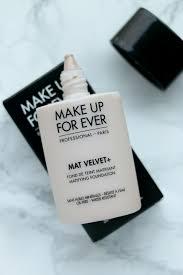 makeup forever mat velvet review