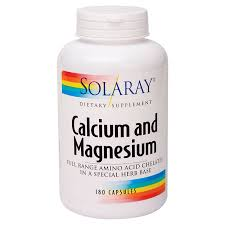 Calcium And Magnesium (<b>180 Capsules</b>) by Solaray at the Vitamin ...