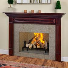 view gallery the crestwood is a classic american wood fireplace mantel