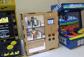 Purpose Of Vending Machine Amazing Arduino Blog Venduino Is A DIY Arduino Vending Machine