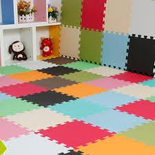 hot 9pcs eva foam exercise gym floor mat soft interlocking kids play mats 1 of 12free