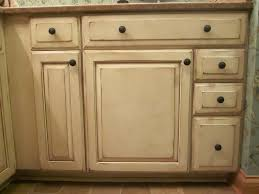 colored cabinets glaze
