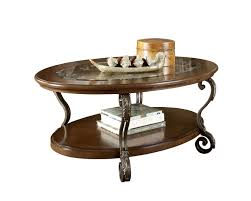 Nestor Oval Cocktail Table by Ashley Furniture