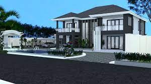modern 4 bedroom maisonette house plan