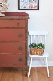 Farmhouse Chic Vintage Dresser - Painted & Glazed