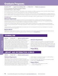 graduate programs academic calendar