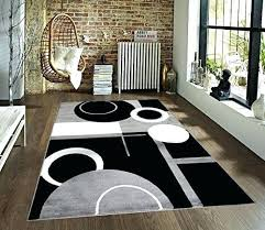 black and white striped area rug white and black area rug elegant gray black white x