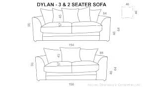 E Dimensions Of A Couch Room Magnificent Standard Sofa Size Length  Full 3 Seat  Related Post