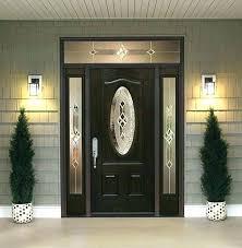 craftsman front door with sidelights entry fiberglass doors o29