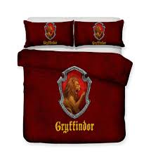 3d printed bedding theme red gryffindor college bedding sets duvet cover set bedspreads sets solid duvet covers from home8888 39 26 dhgate com