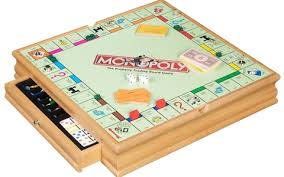 Wooden Monopoly Board Game In the age of the smartphone board games are still a winner 63