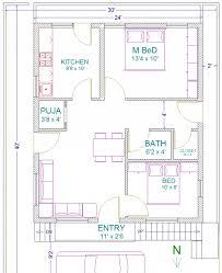 30 40 3 bedroom house plans adithya vastu plan home plan 30 40 site