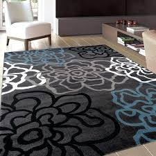 blue gray area rug blue and grey area rug contemporary modern fl flowers dark x top blue gray area rug
