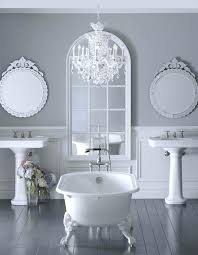 bathroom with chandelier glamorous bathroom with a glass crystal chandelier bathroom chandeliers uk bathroom with chandelier