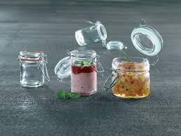 clamp lid mini glass seal jars 8oz 24 pcs case