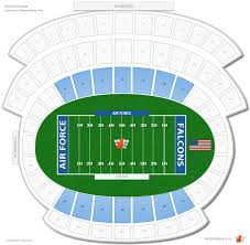 Naval Academy Football Stadium Seating Chart Falcon Stadium Lower Level Sideline Football Seating