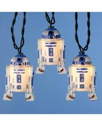 Star Wars String Lights R2d2 Star Wars String Christmas Lights