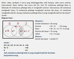 Contoh Soal Diagram Venn Soal Diagram Venn Kelas 7 Magdalene Project Org