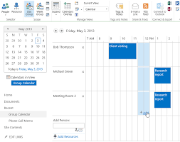 Online Office Calendar Reservation Of Resources In Sharepoint 2013 And Sharepoint 2013
